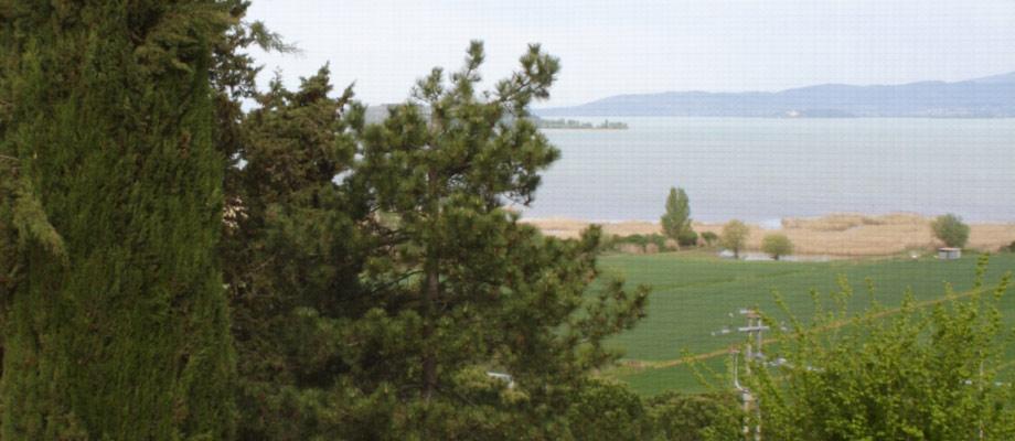 Con vista sul Lago Trasimeno